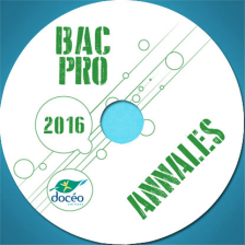 Annales 2016 BAC PRO