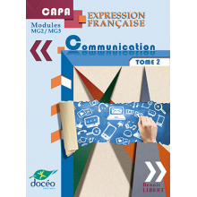 Capa Manuel Scolaire Expression Francaise Modules Mg2 Mg3 Communication Tome 2